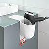 Wenko Ampio White Hair Dryer Holder - 23480100 profile small image view 1
