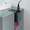 Wenko Ampio Grey Hair Straightener Holder - 23487100 profile small image view 1