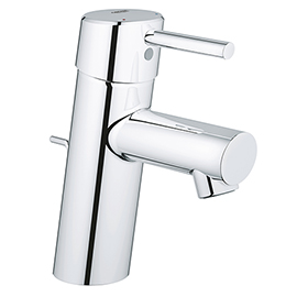 Grohe Feel S-Size Low Pressure Basin Mixer with Pop-up Waste - 23494000