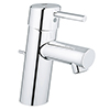 Grohe Feel S-Size Low Pressure Basin Mixer with Pop-up Waste - 23494000 profile small image view 1