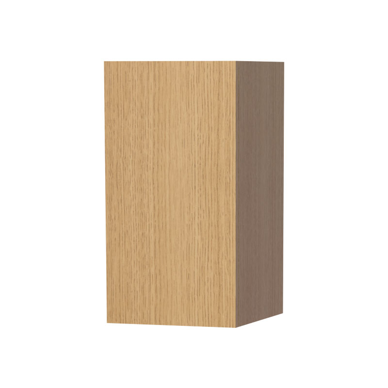 Miller - New York Small Storage Cabinet - Oak Large Image
