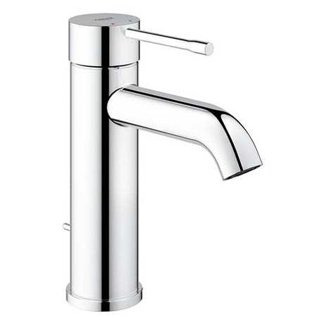 Grohe Essence S-Size Mono Basin Mixer with Pop-up Waste - Chrome - 23589001
