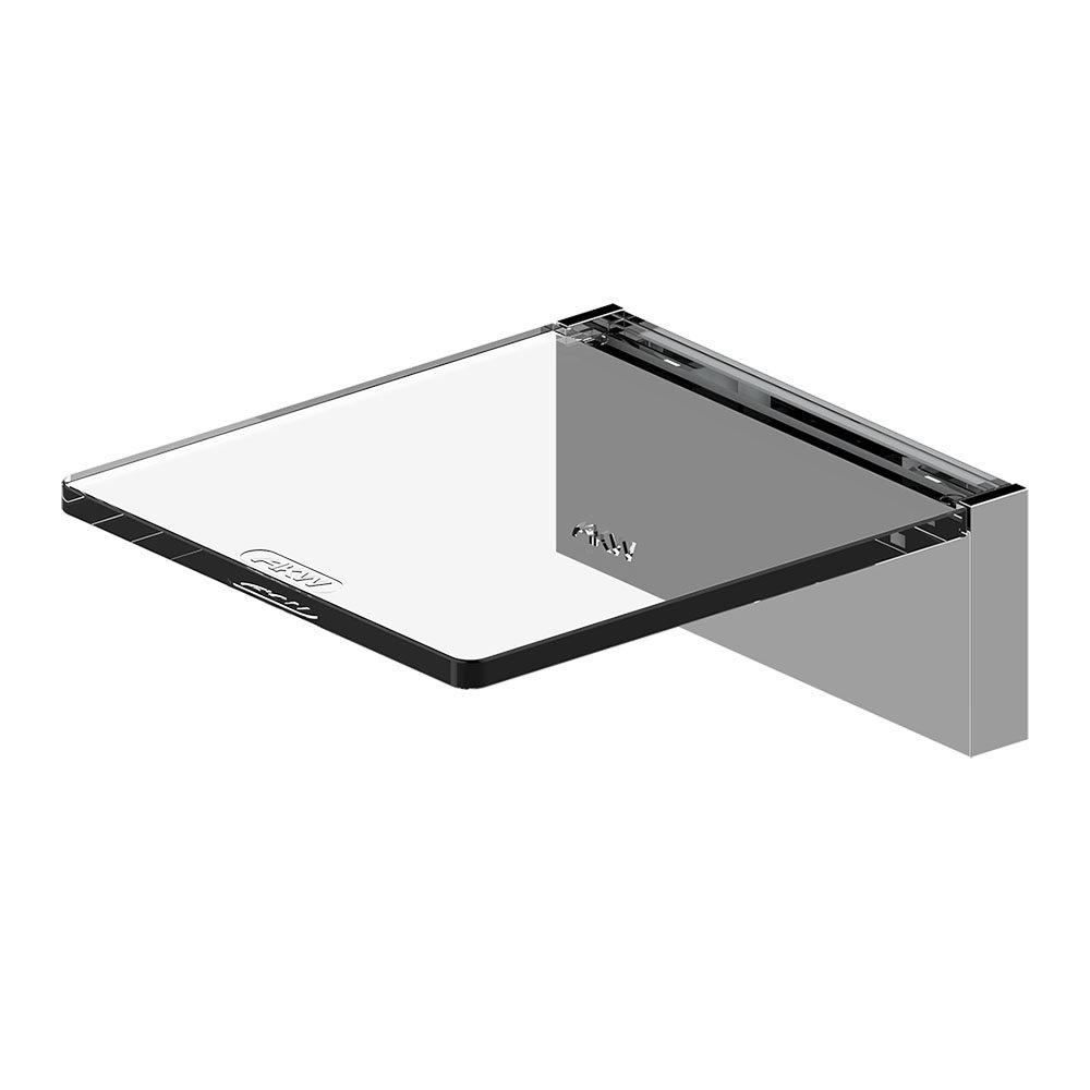 AKW Onyx Small Shelf Chrome
