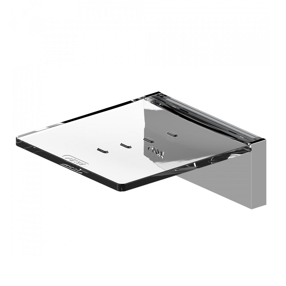 AKW Onyx Soap Dish Chrome