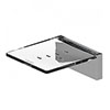 AKW Onyx Soap Dish Chrome profile small image view 1