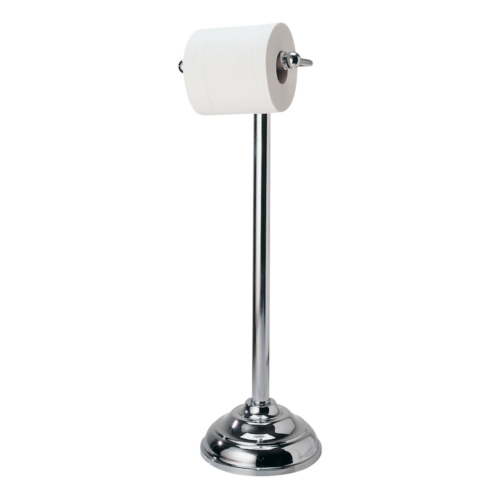 Roper Rhodes Berkeley Freestanding Toilet Roll Holder - 2371.02 profile large image view 1