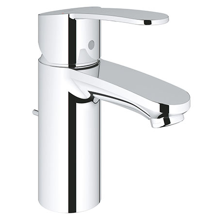 Grohe Wave S-Size Mono Basin Mixer with Pop-up Waste - 23832000