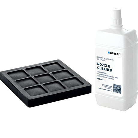 Geberit AquaClean Active Carbon Filter and Nozzle Cleaner Set - 240.625.00.1