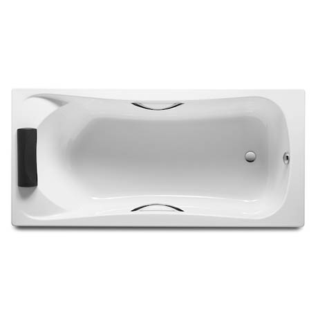 Roca BeCool 1800 x 800mm Rectangular Acrylic Bath with Grips