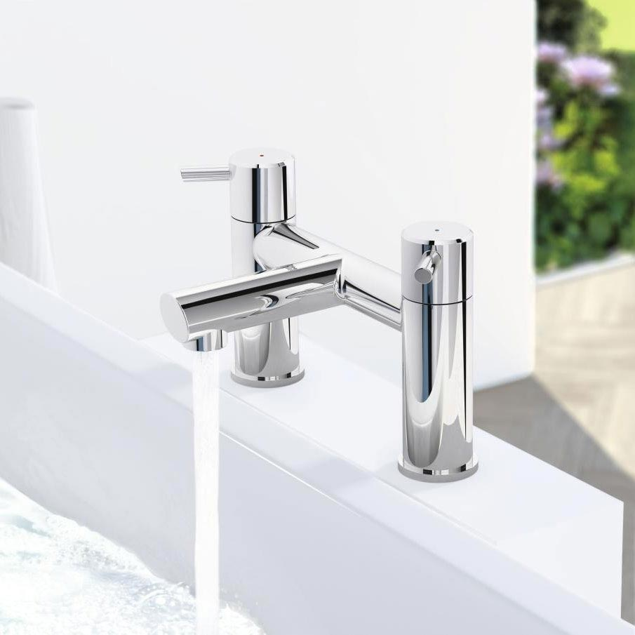 Grohe Concetto Bath Filler - 25102000 profile large image view 2