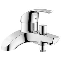 Grohe Eurosmart Bath Shower Mixer - 25105000 Medium Image