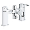 Grohe Plus Bath Shower Mixer Tap - 25133003 profile small image view 1