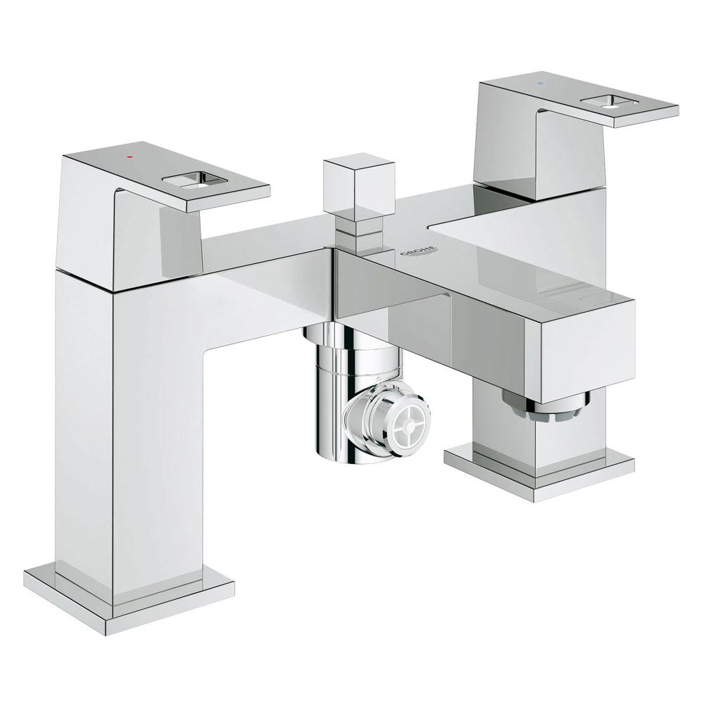 Grohe Eurocube Bath Shower Mixer - 25137000 Large Image