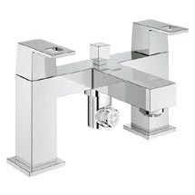 Grohe Eurocube Bath Shower Mixer - 25137000 Medium Image