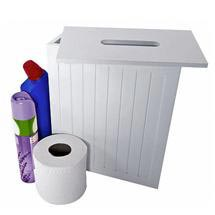 Lloyd Pascal - White MDF Shaker Style Storage Unit w/ Removable Lid - 255.96.796 Medium Image
