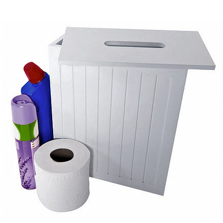 Lloyd Pascal - White MDF Shaker Style Storage Unit w/ Removable Lid - 255.96.796 profile large image view 1
