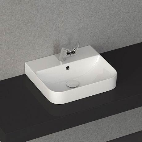 Isvea Sott Aqua 48cm Surface Mounted Basin