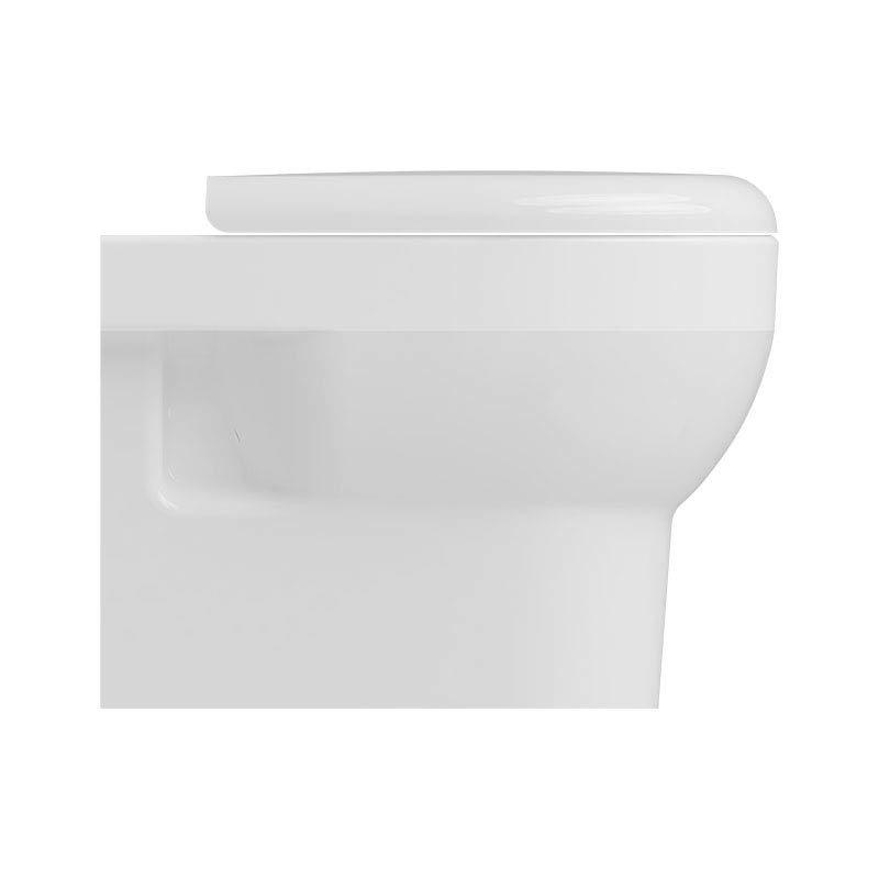 Isvea Bplus Rimless Wall Hung WC Pan  Feature Large Image