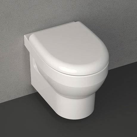 Isvea Bplus Rimless Wall Hung WC Pan