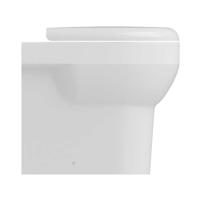 Isvea Bplus Rimless Back to Wall Pan  Feature Large Image