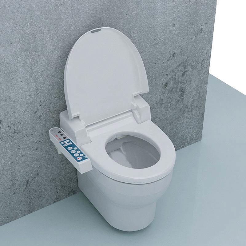 Isvea SmartPlus Shower Toilet Seat profile large image view 2