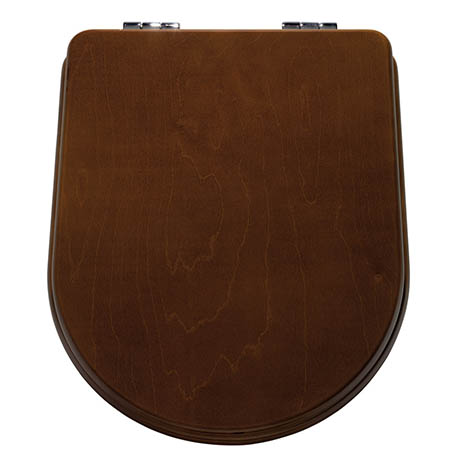 Mere Aristo Walnut Soft Close Seat - 26-8047