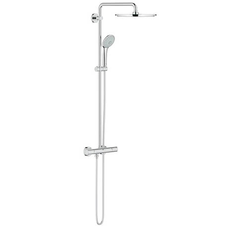 Grohe Euphoria 310 Thermostatic Shower System - Chrome - 26075000