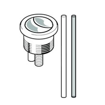 Geberit - Dual Flush Button with Rods - 261.200.00.1 Feature Large Image