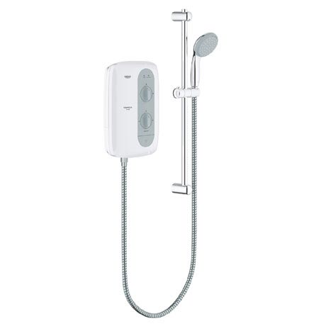 Grohe New Tempesta 100 Pressure Stabilized Electric Shower - Nightime Grey