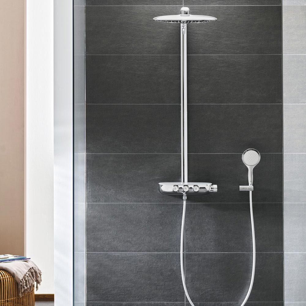 Grohe Rainshower SmartControl 360 DUO Shower System - 26250000  Newest Large Image