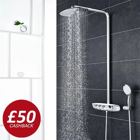 Grohe Rainshower SmartControl 360 DUO Shower System - Chrome - 26250000