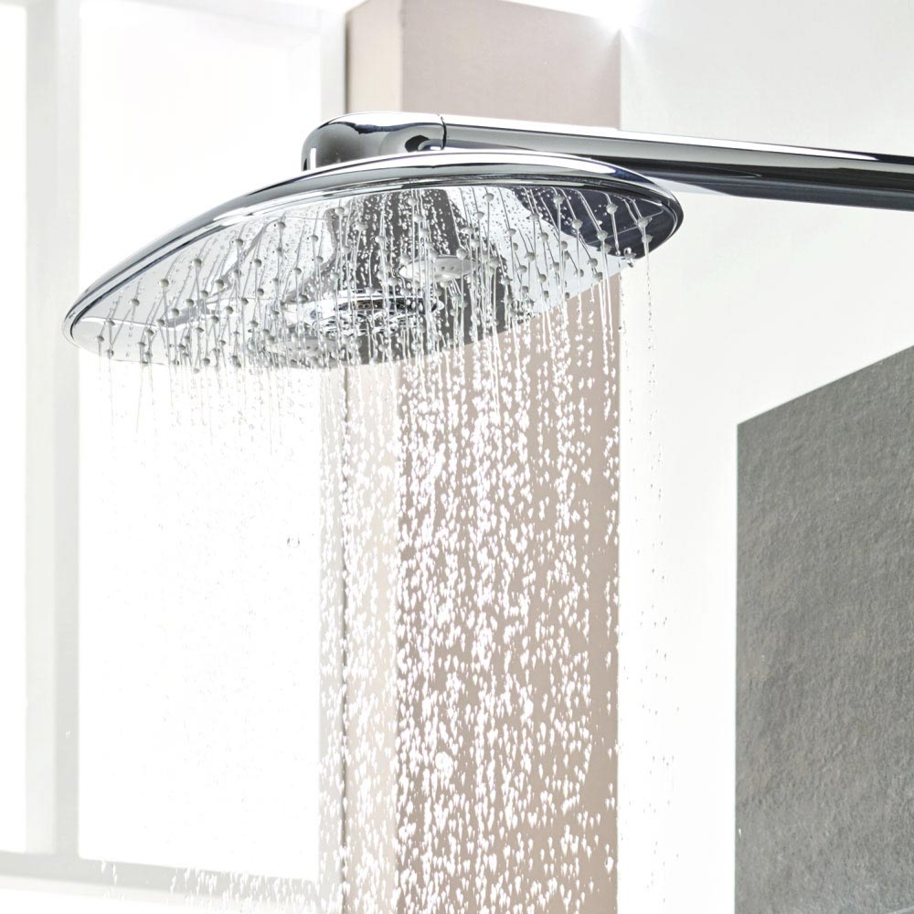 Grohe Rainshower 360 DUO Head Shower and Arm Set - 26254000 profile large image view 3