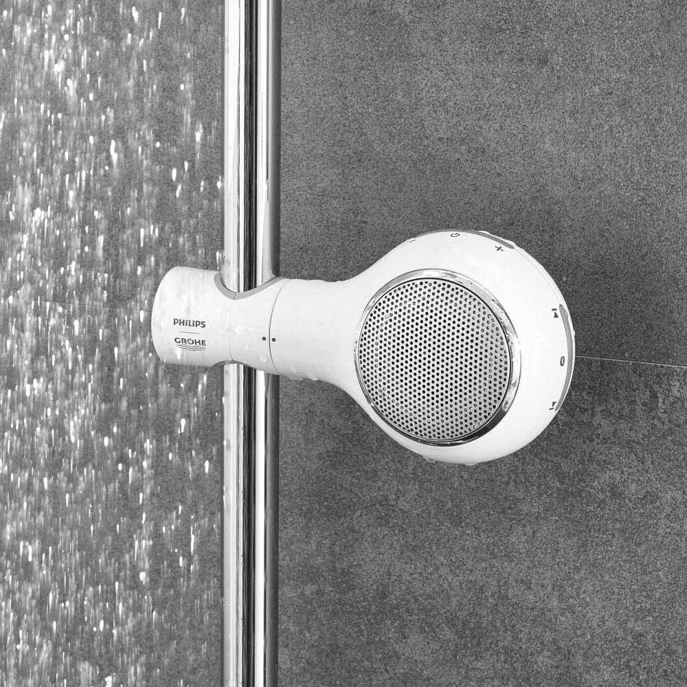 PHILIPS | GROHE Aquatunes Bluetooth Wireless Shower Speaker - 26271LV0 profile large image view 2
