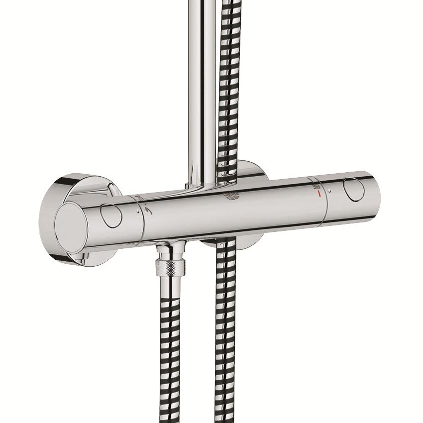 Grohe New Tempesta Cosmopolitan 160 Thermostatic Shower System - 26302000 profile large image view 4