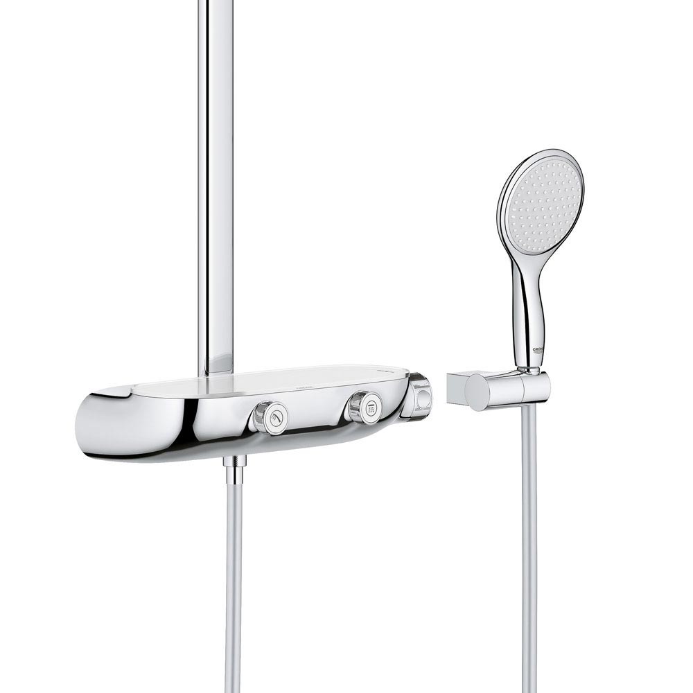 Grohe Rainshower SmartControl 360 MONO Shower System - 26361000 profile large image view 2