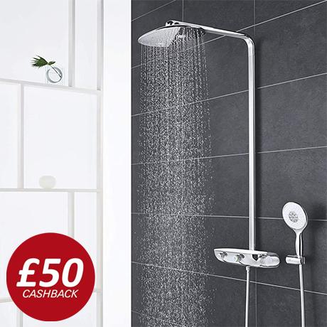 Grohe Rainshower SmartControl 360 MONO Shower System - 26361000