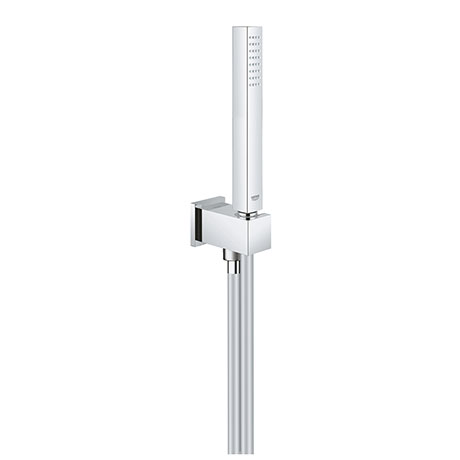 Grohe Euphoria Cube Stick Outlet Elbow with Parking Bracket, Flex + Handset - 26405000