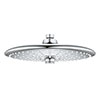 Grohe Universal 260mm 3 Spray Shower Head - 26455000 profile small image view 1