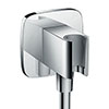 hansgrohe FixFit Wall Outlet E with Shower Holder - 26485000 profile small image view 1