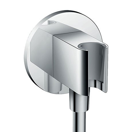 hansgrohe FixFit Wall Outlet S with Shower Holder - 26487000