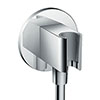 hansgrohe FixFit Wall Outlet S with Shower Holder - 26487000 profile small image view 1