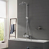 Grohe Euphoria SmartControl 260 MONO Shower System with Bath Mixer - 26510000 profile small image view 1