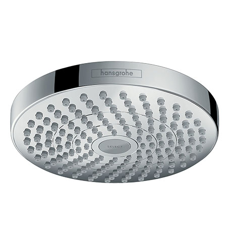 hansgrohe Croma Select S 180 2 Spray Shower Head - Chrome - 26522000