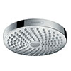 hansgrohe Croma Select S 180 2 Spray Shower Head - Chrome - 26522000 profile small image view 1