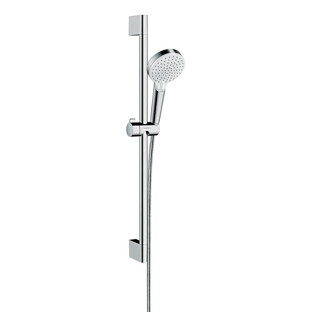 hansgrohe Crometta Vario 2 Spray Shower Slider Rail Kit 65cm - 26532400