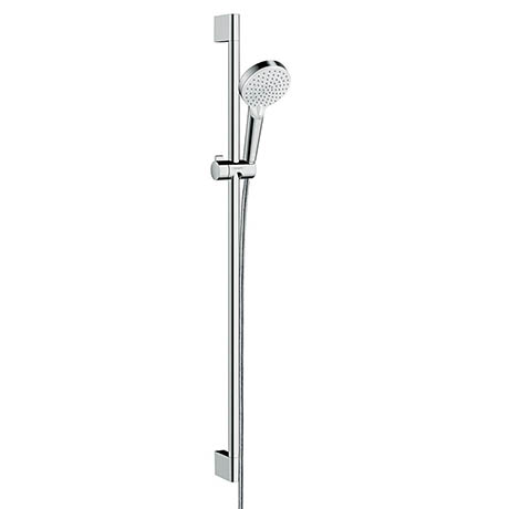 Hansgrohe Crometta Vario 2 Spray Shower Slider Rail Kit 90cm - 26536400