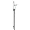 Hansgrohe Crometta 1 Spray Shower Slider Rail Kit 90cm - 26537400 profile small image view 1