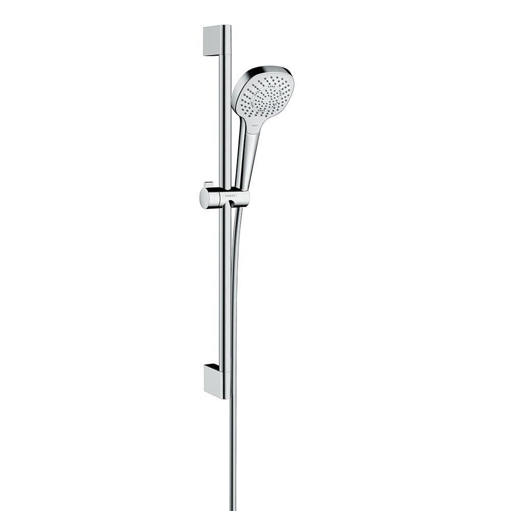 hansgrohe Croma Select E Multi 3 Spray Shower Slider Rail Kit 65cm - 26580400