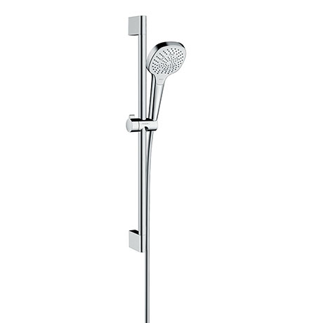 hansgrohe Croma Select E Multi 3 Spray Shower Slider Rail Kit 65cm - 26580400