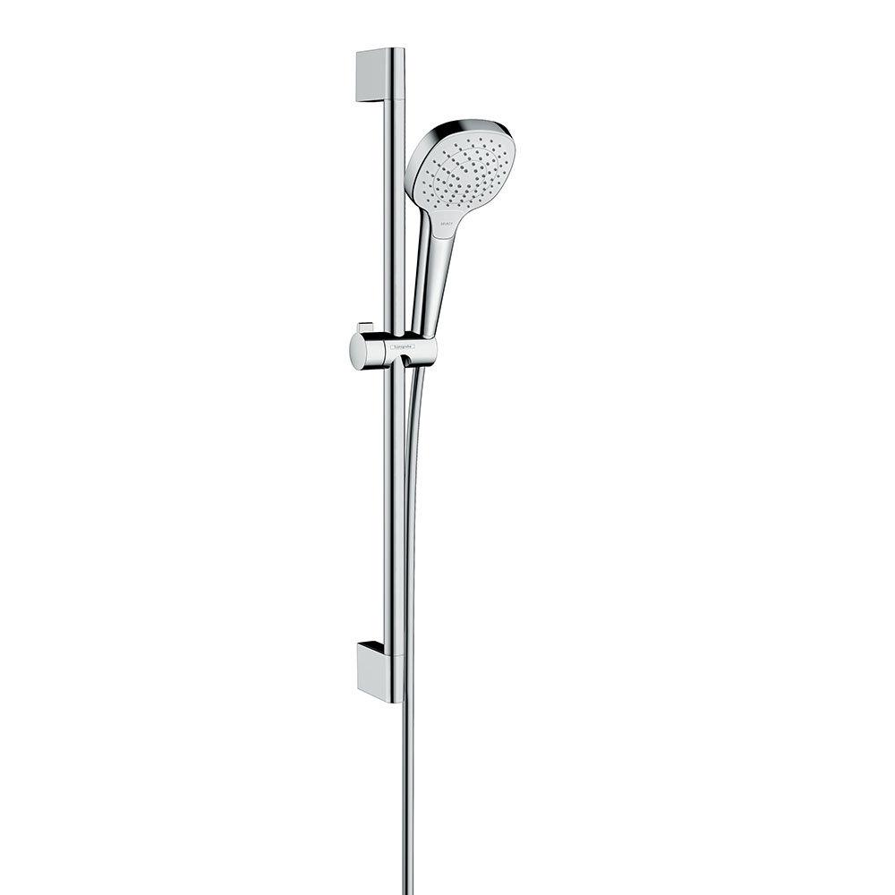 hansgrohe Croma Select E Vario EcoSmart 9 l/min 3 Spray Shower Slider Rail Kit 65cm - 26583400